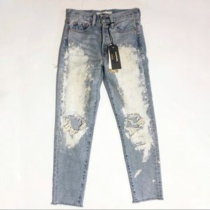 Levi's X Rolling Stone Wedgie Fit Jeans NWT sz 24